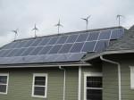 Ethos Wind Turbines and Solar Panels